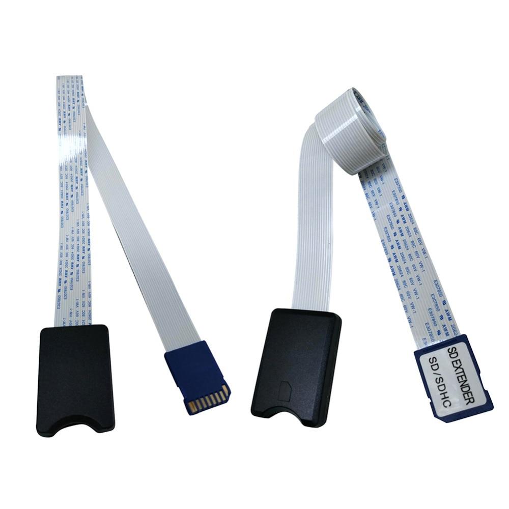 ¡Novedad! Cable de extensión de tarjeta TF / Micro SD a SDHC de 60CM, adaptador Flexible de extensión de tarjeta Micro SD a SD / SDHC/SDXC, adaptador de extensión de tarjeta