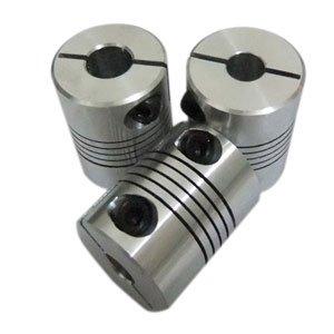 5 шт./лот соединитель гибкого вала от 5 мм до 5 мм, соединительный элемент зажимного вала 5*5 мм, диаметр 20 мм, длина 25 мм