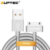 USB-кабель Suptec, Lightning, 2.4A, нейлоновая оплетка, 2 А, для iPhone, iPad, цвета на выбор