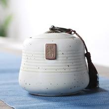 Pot de thé céramique en céramique   Céramique brute à boucle en cuivre et sable violet Pot de thé bocaux en céramique divers Styles de bocaux en céramique en option, boîte en porcelaine