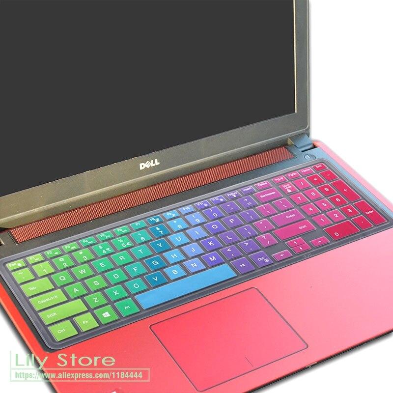 15,6-дюймовый чехол для клавиатуры ноутбука Dell Inspiron 15 5577 3567 3565 3568 5000 5576 3580 7000 7559 15PR 7567 5567 5565