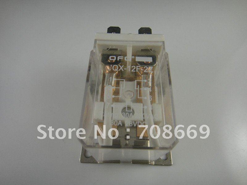 10 قطعة JQX-12F 30A 2Z AC 220V لفائف PCB السلطة التقوية 220VAC