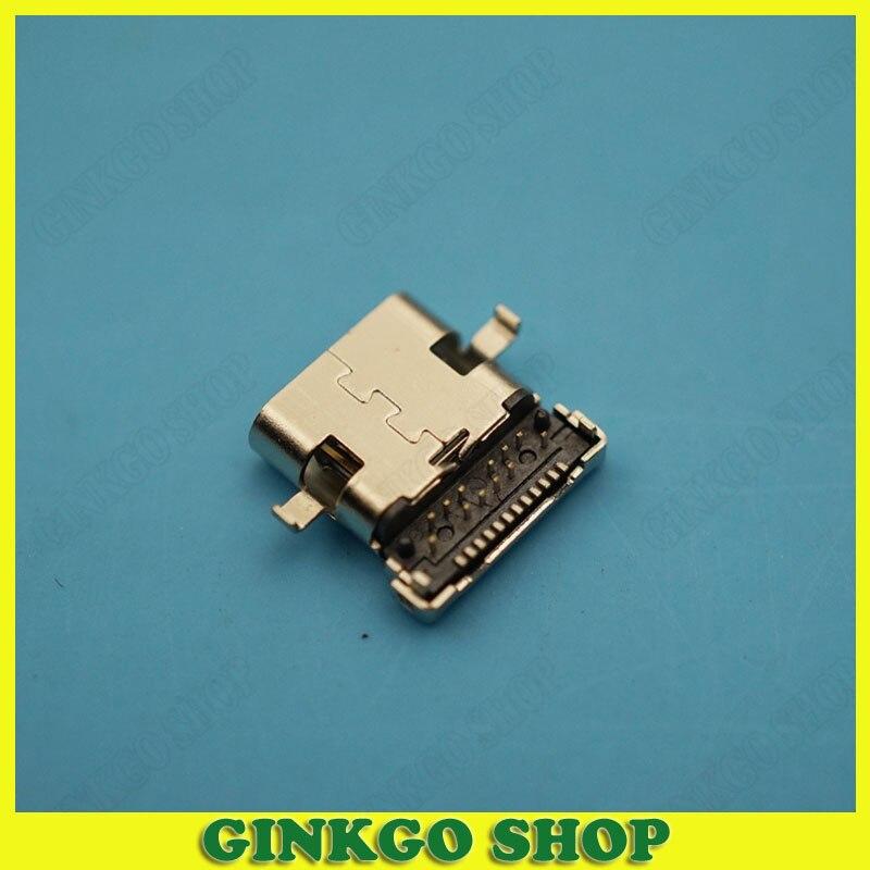 مقبس موصل USB من النوع C 200 ، 3.1 قطعة ، توصيل 24 بكسل ، موصل أنثى