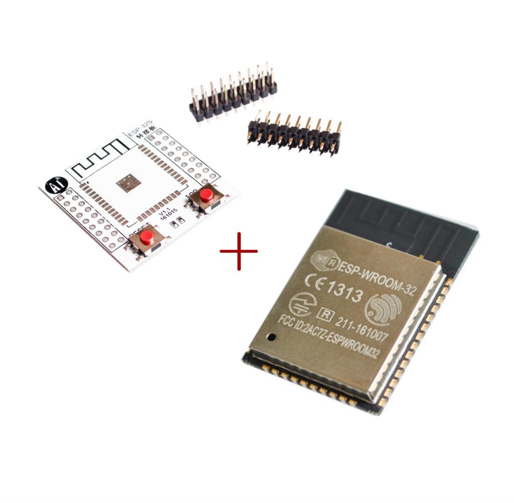 Módulo BLE Wlan ESP-WROOM-32 Wifi ESP32, ESP-32S, placa adaptadora