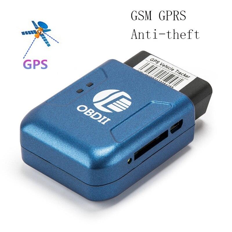 2018 GPS tracker TK206 OBD2 alarma de vibración antirrobo GSM Quad Band en tiempo Real GSM Mini GPRS rastreador gps para vehículo OBD II