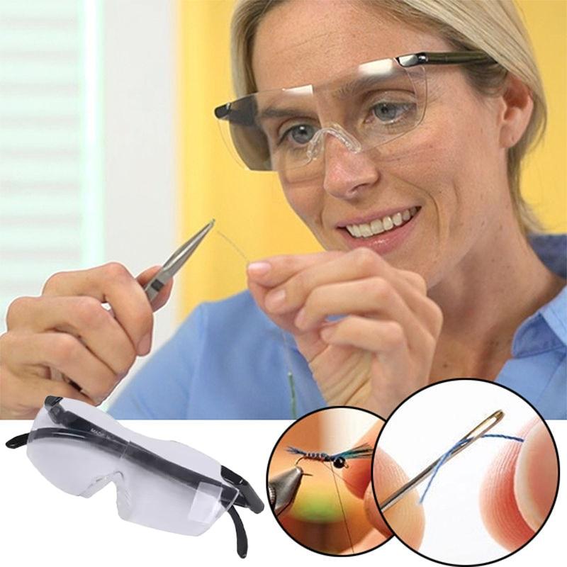 Gafas de Lupa presbiópicas de 250 grados, Lupa, gafas de aumento, Lupa portátil de moda