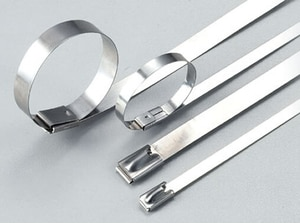 4.6*600 201 304 STAINLESS STEEL CABLE TIES stainless steel tie bar cable management