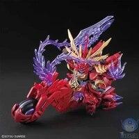 original three kingdoms action toy figures mobile suit gundam sdbb lyu bu sinanju chituma puzzle anime figure