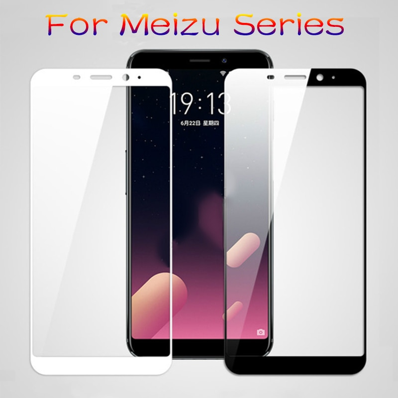 Funda protectora de vidrio para Meizu Maisie m6 m3 m5 Note m3s m5s m5c Pro 7 vidrio templado Pro7 m 5 6 no m5note m6note cubierta