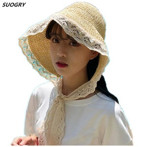 2018 Fashion Women's Wide Brim Straw Hat Summer Style Raffia Floppy Hat Foldable Webbing Chapeau Paille Beach Panama Sun Hats