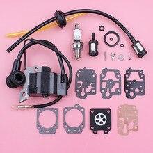Bobine dallumage bougie dallumage pour Honda GX35 GX 35 ligne de filtre à carburant passe-fil carburateur Kit de réparation tondeuse à gazon moteur pièce de rechange