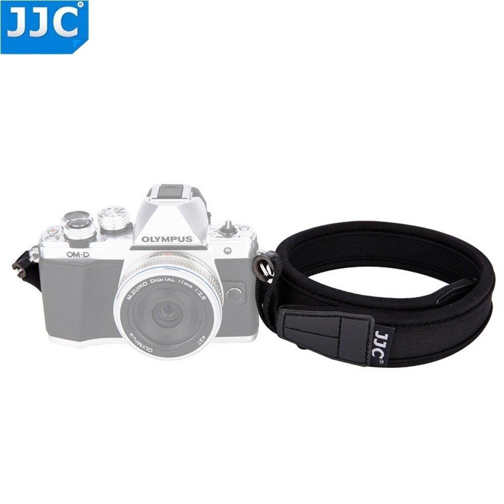 JJC cámara sin espejo hombro neopreno 124cm longitud DSLR Sling cinturón anillo colorido ajustable correa de cuello para Olumpus/Fujifilm