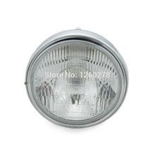 Lampe frontale pour Kawasaki ZEPHYR   Assemblage de phare chromé, pour 550 750 1100 ZR550 ZR750 ZRX1100 1200 ZRX400 ER5 ZR7 W650 café de course