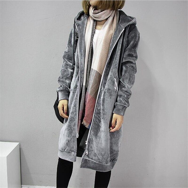 Женская утепленная куртка с капюшоном, Повседневная Длинная черная флисовая куртка на осень и зиму, A3386, 2020 glissade куртка утепленная женская glissade размер 44