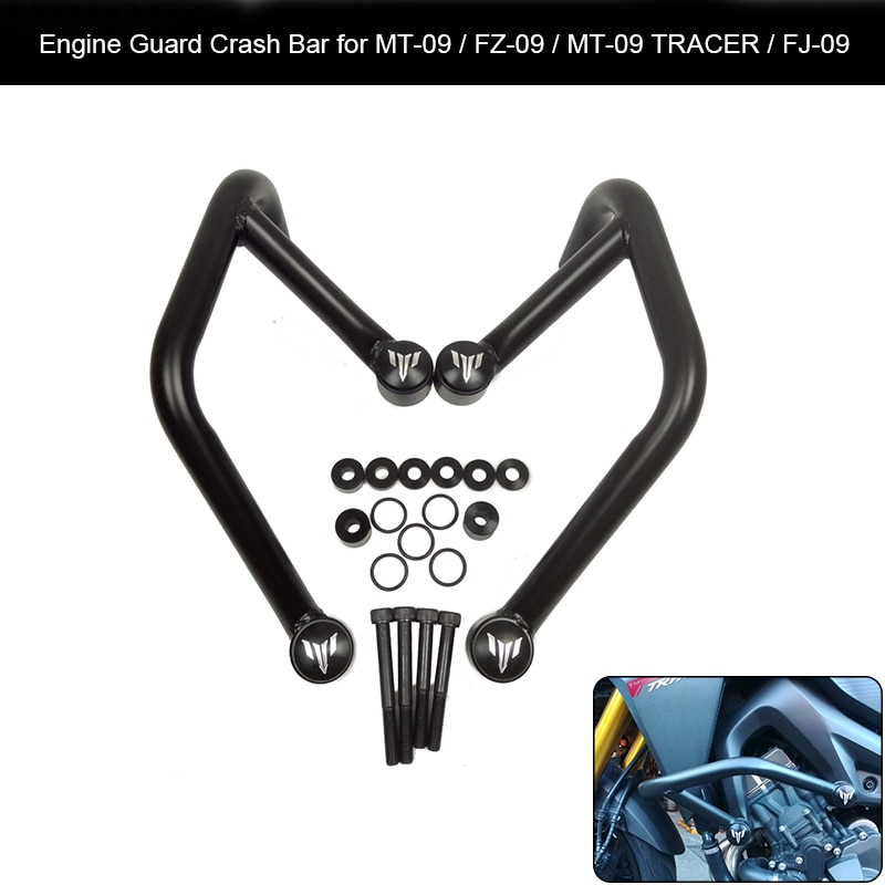 Para Yamaha MT-09 FZ-09 FJ-09 MT09 TRACER 2014-2016 motocicleta frontal de motocicleta motor guardia accidente bares marco Protector parachoques nuevo