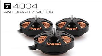 Motor T antigravedad serie 4004 KV300/KV400 4-6S para Quad Hexa Octa Multicopter(1 Uds CW + 1 Uds CCW como un par)