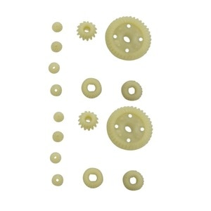 12T 15T 24T 38T Metal Front and Rear Differential / Plastic Gear Accessories for 1:18 Wltoys A949 A959 A969 A979 184012 RC car