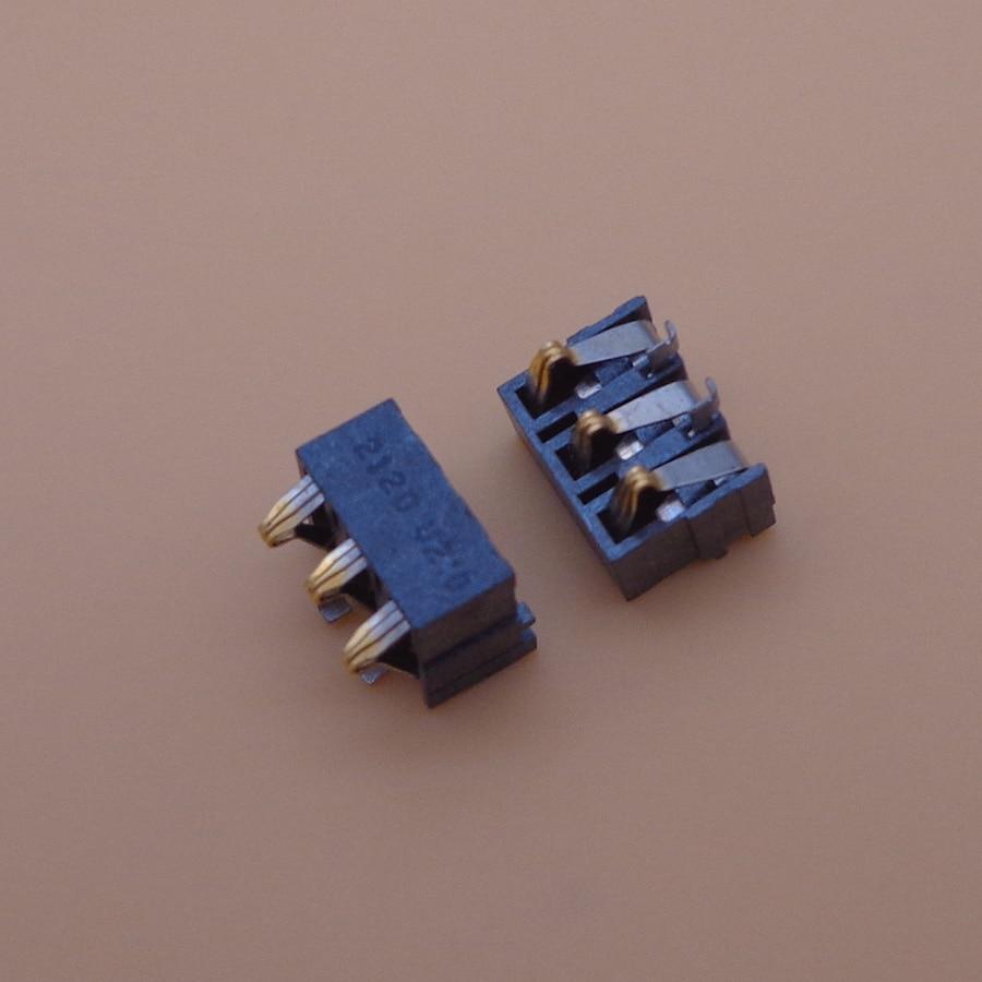 200 unids/lote batería conector FPC interior Clip contacto piezas de repuesto para Nokia 3100 N3100 3pin