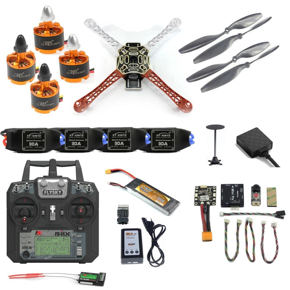 Комплект дрона F450 «сделай сам», 2,4G, 10CH, Радиоуправляемый квадрокоптер, Радиоуправляемый, Mini PIX M8N, GPS, PIXHAWK