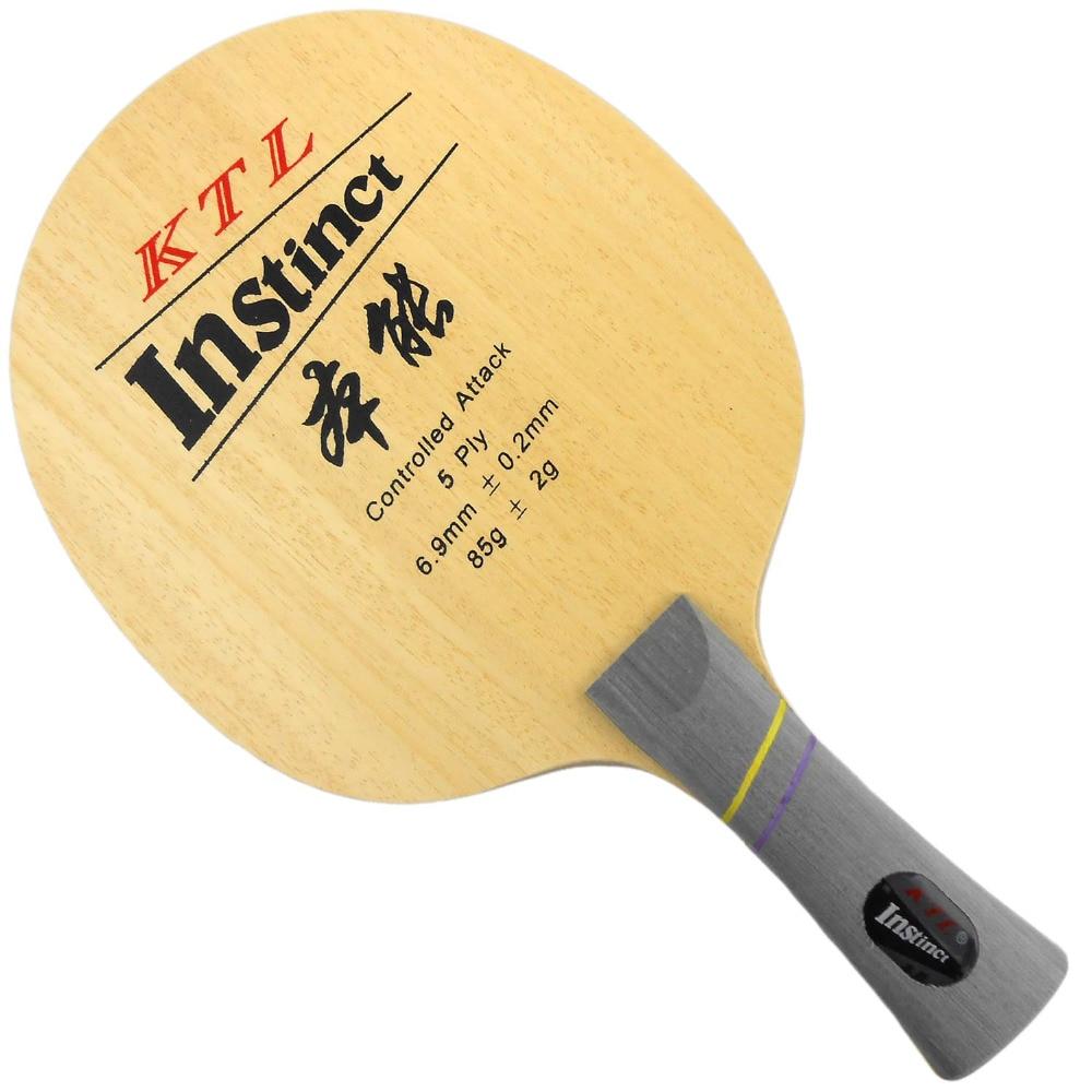 KTL Instinct (L-1008, L1008, L 1008) shakehand table tennis / pingpong blade