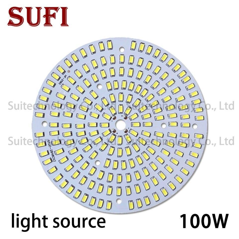 100W LED High Bay Light 140mm Brightness SMD Light Board SMD5730 For DIY 100W Watt LED Ceiling Mining Lamp Industrial Light