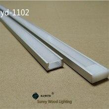 20-80 m/partij 10-40 pcs van 2 m 80 inch/pc aluminium profiel voor led strip, slim led kanaal voor 8-11mm strip, led bar licht spoor