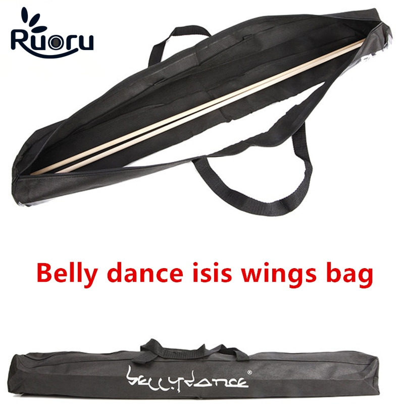 Ruoru Belly Dancing Isis Wing Bags Belly Dance Accessories Professional Adult Kids Isis Wings's Bag for Storage angel wings