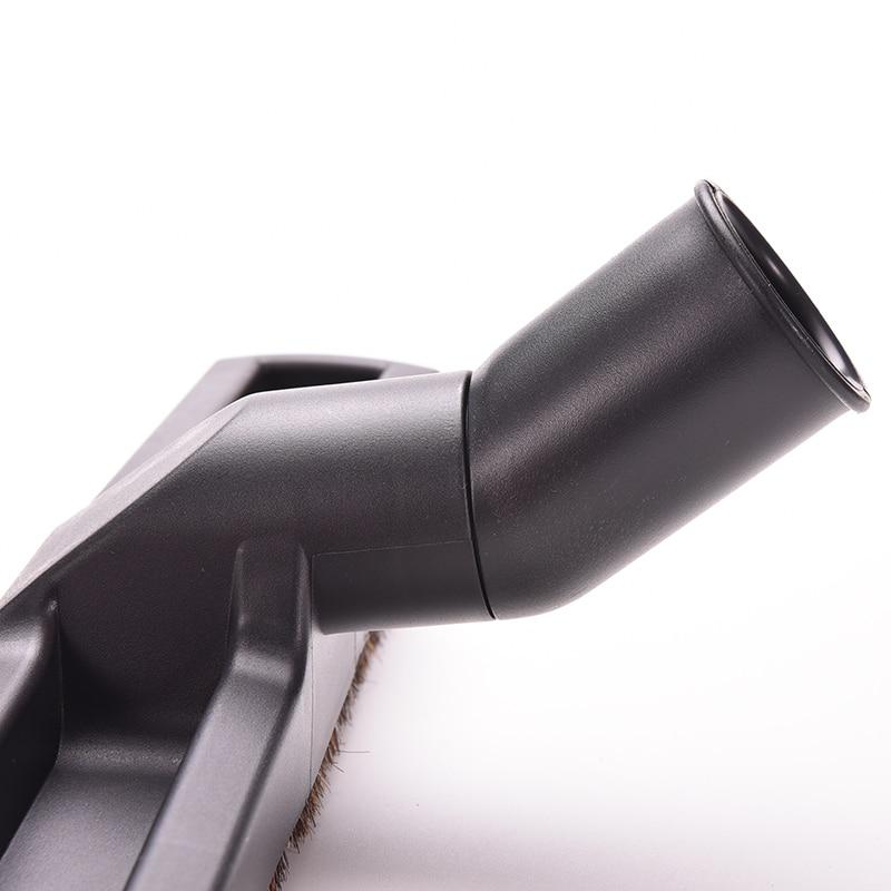 """Preto Escova de Varredura Cabeça Acessório da Ferramenta de Limpeza de Poeira Para Aspirador de pó 12 """"Comprimento Chão Substituição Escova de Cabelo de Cavalo"""