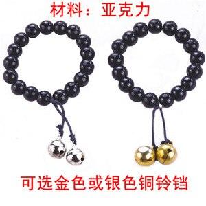 Anime Jigoku Shoujo HELL GIRL Enma Ai Cosplay Black Beads Bracelet Fashion Wristband Collectible Accessories Cosplay Props