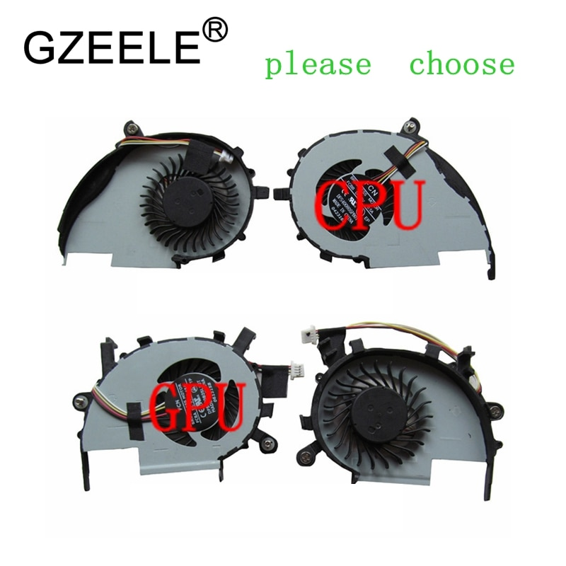 Вентилятор охлаждения GZEELE для ноутбука Acer Aspire V5-472 V5-472P V5-572G 572 V5-573G V7-582PG