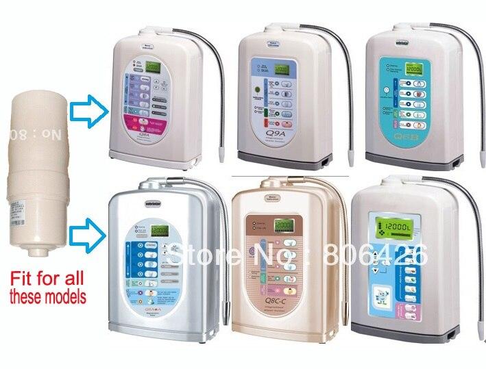 Reemplazo de filtro integrado (carbono y KDF) para ionizadores de agua/máquina de agua alcalina/ionizador kangen/electrolizador/generador de hidrógeno