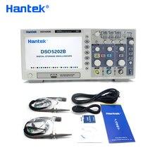Hantek DSO5202B Handheld Digital Oscilloscope 2 Channels 200Mhz LCD USB Osciloscopio 1GSa/s Real Time Sample Rate