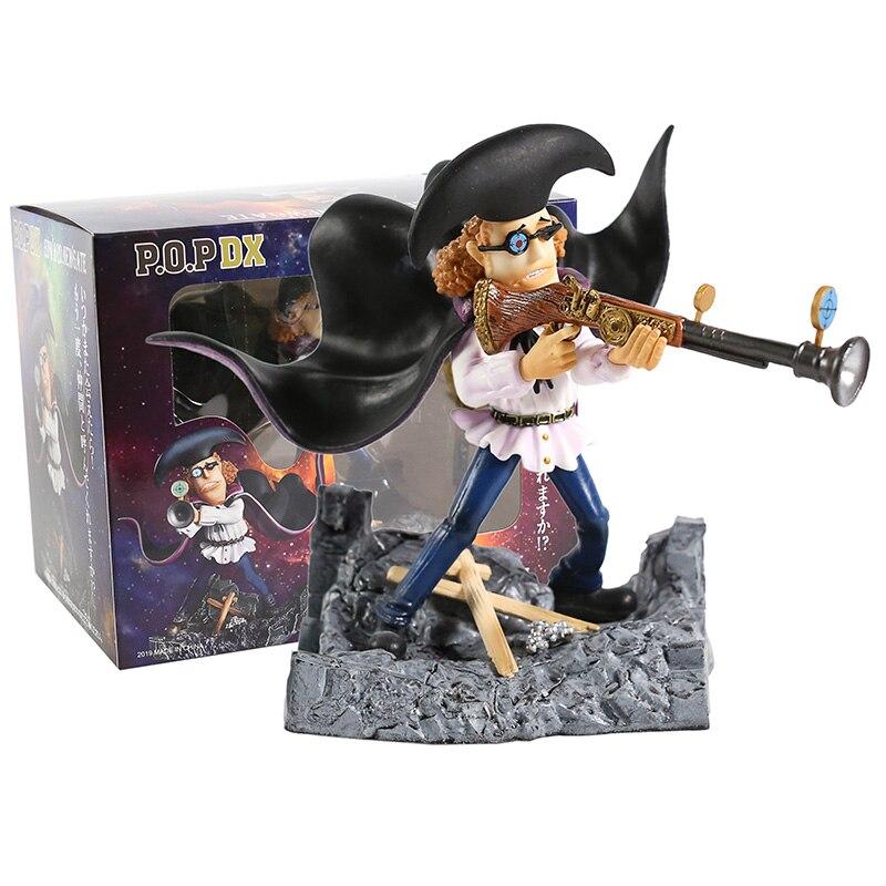 Anime One Piece Van Trado Barba Negra Piratas PVC Figura Collectible Toy Modelo