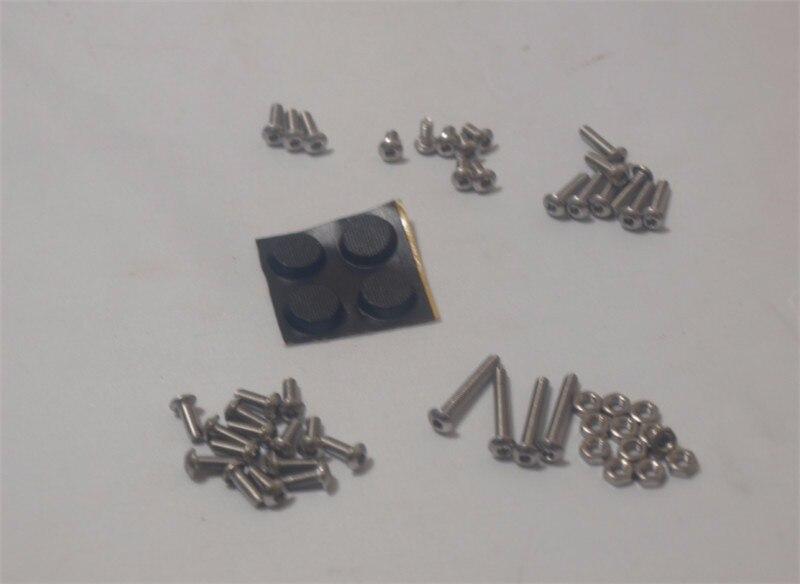 MeArm DIY Mini brazo robótico Industrial mearm-fixings Kit tornillos tuercas plástico pies set