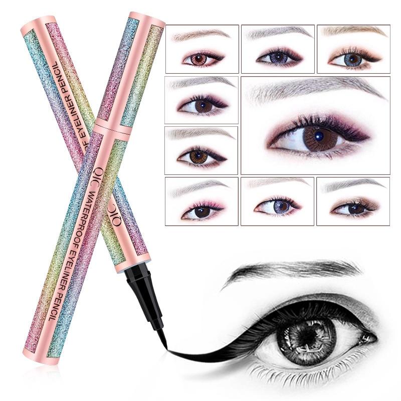 Quick-drying star eyeliner star making black waterproof lasting natural eyeliner high quality makeup beauty
