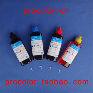 PROCOLOR T190# CISS ink Refill Dye ink special for EPSON ME-301 ME301/ ME-303 ME303 ME 303/ME-401 ME401/ WF-2528 WF2528 WF 2528