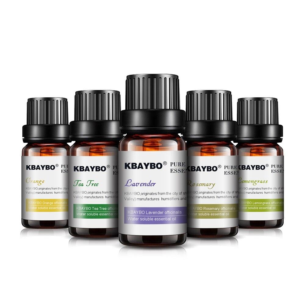 Nuevos aceites esenciales para difusor humidificador de aceite de aromaterapia 6/3 tipos de fragancia de lavanda árbol de té Romero Lemongrass naranja