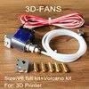 Hotend – imprimante 3D longue distance V6 j-head avec ventilateur 3010 buse 1.75 + kit volcan 3.0/0.4mm