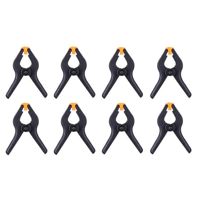 8 unids/lote 3 pulgadas abrazadera de resorte herramientas de carpintería Clip de...
