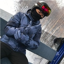 Ski Suit Men Winter Warm Windproof Waterproof Snow Jackets + Pants Snowboard Sets Hot Ski Equipment Snowboard Jacket Men Brand