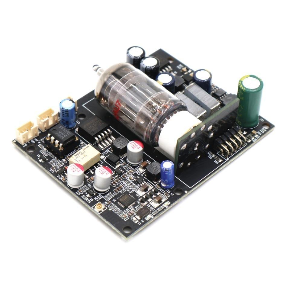 DAC Bluetooth 5.0 CSR8675 APTX HD + ES9018 24bit/96KHZ Audio decoding Bluetooth Audio Received GE5814 Tube Pre amplifier board enlarge