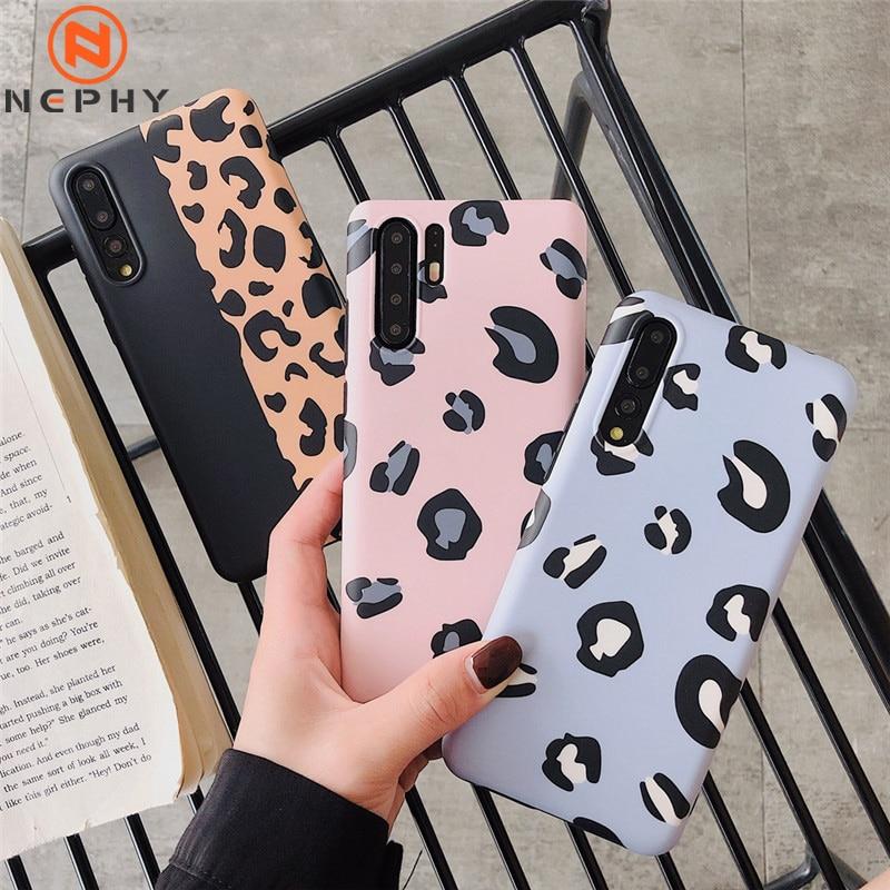 Case For Huawei P30 Pro P20 Lite Mate 20 Pro Nova 3 3i 4 P30Pro P20Lite P20Pro Leopard Print Silicon TPU Luxury Phone Back Cover