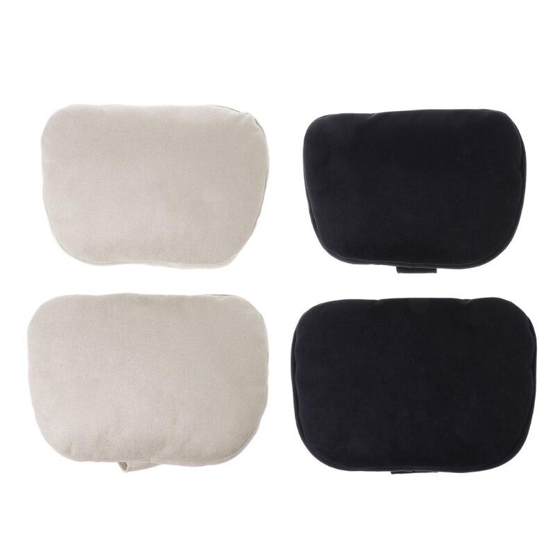 2 Pcs Universal Car Headrest S Class Ultra Soft Pillow For Mercedes Benz Maybach