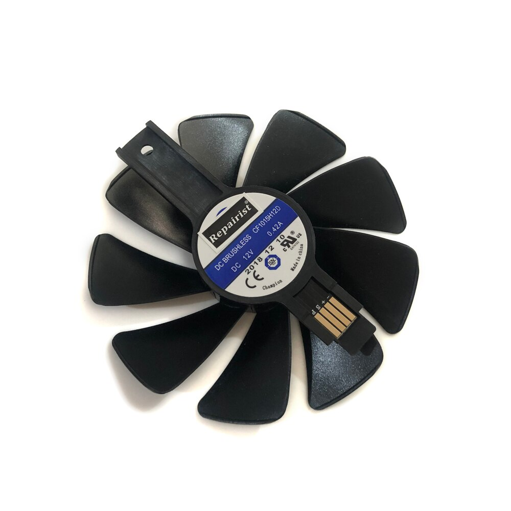 RX 580/570 GPU Cooler Gear LED вентилятор для Sapphire NITRO RX580 RX570 Система Охлаждения видеокарты как замена