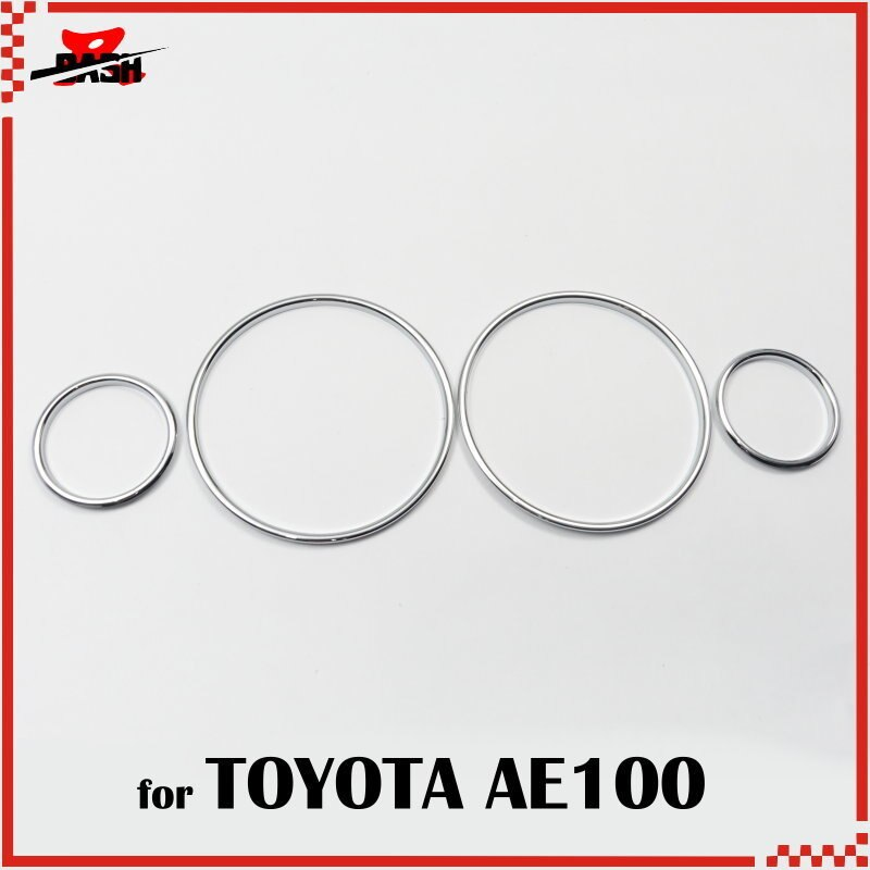 DASH cromo grupo de tablero de anillos para Toyota 1.6L AE100 AE101 1993, 1997
