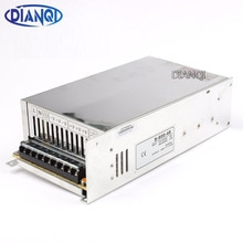 DIANQI alimentation à découpage alimentation 12V 13.5V 15V 24V 27V 36V 48V 600w entrée dalimentation ca à cc convertisseur 110v 220v
