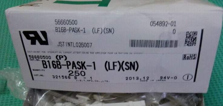 B16B-PASK-1 رأس موصلات محطات العلب 100% جديد وأصلي جزء B16B-PASK-1 (LF) (SN)