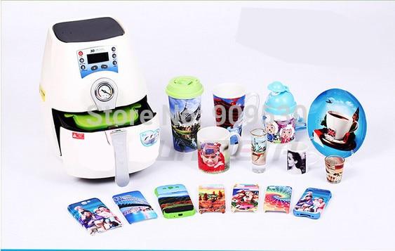 Sunmeta ST-1520 B phone cup PC&Mug 3D Mini Multifunction Sublimation Machine Heat Transfer machine Free shipping