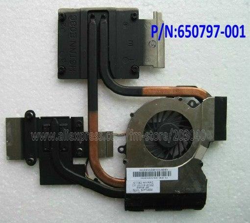 Laptop CPU cooling heatsink&FAN for hp dv6-6000 dv7-6000 DV6-6050 DV7-6B DV7-6C 650797-001 665309-001 INTEL Independent