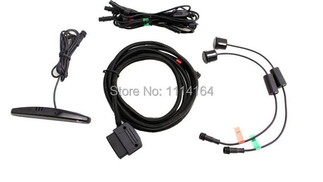 car park sensor CANBUS digital front parking sensor with OBD2 Read for Toyota V.W,Digital sensors, installation OBD connector